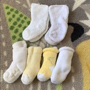 Neutral Baby Sock Bundle (NB/0-3/3-6m)